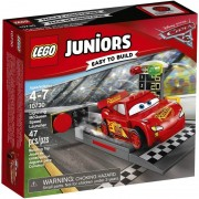 Lego juniors rampa di lancio di saetta mcqueen