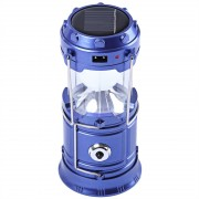 Felinar Camping LED Reincarcabil cu Lanterna - Panou Solar si USB