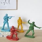 Balvi Serre livres figurines decoratives petits soldats