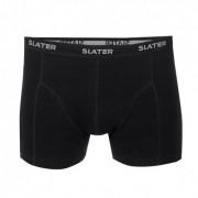 Slater Basic Boxershort Black Two Pack ( art 8520) - Zwart - Size: Small