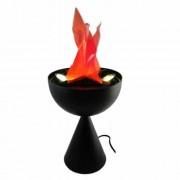 Lampa decorativa cu picior care imita flacara Flammen Lampe