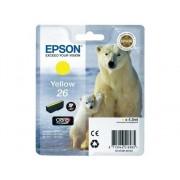 Epson Cartucho de tinta original EPSON, 26, Oso polar 4,5 ml , Amarillo, C13T26144022, T2614