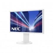 NEC monitor MultiSync LED E224Wi 21.5\ Full HD, IPS, DVI, DP, fehér