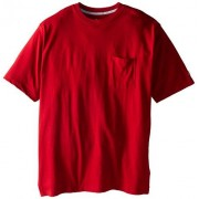 Champion Men's Big-Tall Jersey Pocket T-Shirt, Cardinal Red, 2X/Tall
