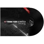 Traktor Scratch Pro Control Vinyl Black Vinile Controllo Nero