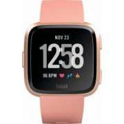 Fitbit pametni sat Versa (NFC) - Peach / Gold Aluminum, rozi