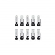 KOOTION 10PCS 4GB USB 2.0 Flash Drive 10 Pack USB Flash Drive Pen Drive Memory Stick Thumb Drive Flash Drives Black