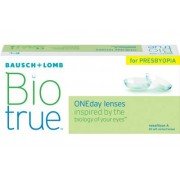 Biotrue ONEday for Presbyopia (30 linser): -3.50, High: +1.75D till +2.50D