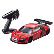 Kyosho 1:10-scale FW-06 Red Audi R8 Nitro RC Car Ready Set