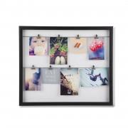 Колаж за снимки UMBRA CLIPLINE - цвят черен