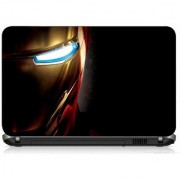 VI Collections METAL HEAD WITH LIGHT EYE PRINTED VINYL Laptop Decal 15.5