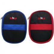 Sky Hard Disk Pouch Combo Dark Blue With Red