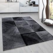 Plus Vloerkleed - Square - Rechthoek - Zwart 200 x 290 cm