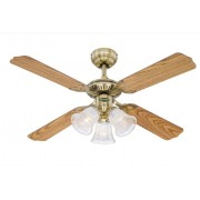 Westinghouse Deckenventilator Princess Trio Messing 105