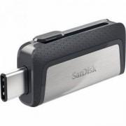 Флаш памет SanDisk Ultra Dual Drive USB Type-C, 128GB, SD-USB-DDDC2-128G-G46