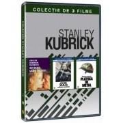 Cu ochii larg deschisi,2001 Odiseea spatiala,Platosa de metal - Colectia de 3 filme Stanley Kubrick (3DVD)