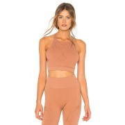 Free People Movement Nikki Femme Bra in Brown. - size M-L (also in XS-S)