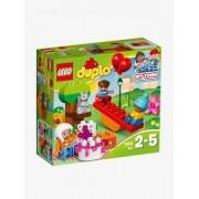 10832 A Festa de Aniversário, Lego Duplo vermelho medio bicolor/multico