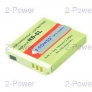 2-Power Digitalkamera Batteri Canon 3.7v 700mAh (NB-6L)