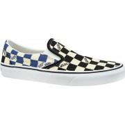 Vans Classic Slip-On Big Check VN0A4U38WRT, Mannen, Wit, Sneakers maat: 44,5 EU