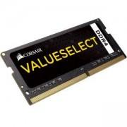 RAM Памет Corsair DDR4, 2400MHz 16GB (1 x 16GB) 260 SODIMM, Unbuffered, Black PCB, 1.2V, Intel 6th Generation Intel Core, CMSX16GX4M1A2400C16