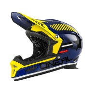 Oneal O´Neal Fury Fidlock RL Afterburner Casco descenso Azul M