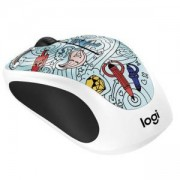 Мишка Logitech Doodle Collection - M238 Wireless Mouse - BAE-BEE BLUE, 910-005055