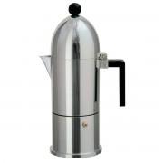 Alessi A di Alessi - La Cupola Espresso Machine A9095, 30 cl, aluminium black