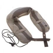 IBS Home Genie MT201 Cervical Massage UShawls For Neck And Shoulders Massager (Grey White)