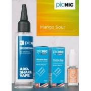 Lichid Tigara Electronica Premium Jac Vapour Mango Sour 70ml, Nicotina 5,1mg/ml, 80%VG 20%PG, Fabricat in UK, Pachet DiY