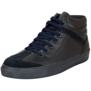 FAUSTO Blue Men's Stylish Ankle Sneakers
