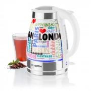 Kosmopolitan Keramik-Design-Wasserkocher 1,7 Liter 2200W LED