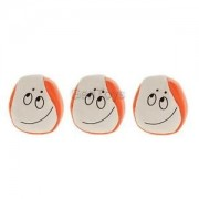 Alcoa Prime PU Ball Confused Look Juggle Balls Magic Prop Beginners Toys Gift 3pcs/Set