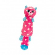 Plus Sparkle Eye Fluzzy Keel Toys, 26 cm, Roz, 1 an+