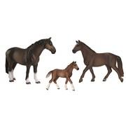 Schleich North America Schleich Hanoverian Horse Family Set Toy Figure