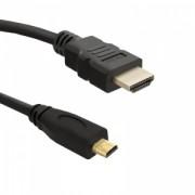 Qoltec HDMI Cable 1.4 AM / Micro HDMI DM - 2,0m