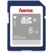 Hama SDHC Card HAMA 104366, 8 GB, Class 10