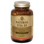 Solgar Linea Apparato Osseo Natural Vita D3 Integratore Alimentare 100 Perle