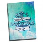 Tablou mesaj motivational - Think Adventure