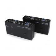 StarTech.com Extensor de Consola KVM por Cat 5 Ethernet, 200m, con USB y Video VGA Doble