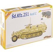 Cyber Hobby 1/35 Sd.Kfz.251 Ausf.C plus German Infantry in Action 1941-42 Figure Set