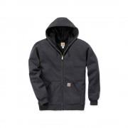 Carhartt 100632 Rutland Lined Sweatshirt - Original Fit - Carbon Heather/Black - M
