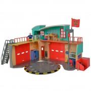Jucarie Dickie Toys Statie de pompieri Fireman Sam cu figurina si accesorii