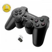 Геймпад ESPERANZA GAMEPAD WIRELESS PS3/PC USB GLADIATOR Черен