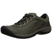 KEEN Presidio II Zapatillas de Senderismo para Mujer, Climbing Ivy/Black, 8 US