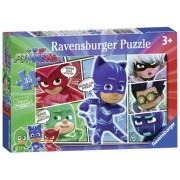 Puzzle Eroi In Pijamale, 35 Piese Ravensburger