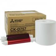 CK-D757 13x18 papir i ribon za mitsubishi