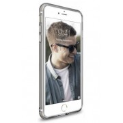 Husa Protectie Spate Ringke Air Smoke Black pentru Apple iPhone 7 Plus si folie protectie display