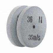 Spare Wheel For Bench Grinder - 150 x 20 mm - 36 Grain