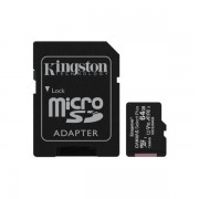 Kingston 64GB Canvas Select Plus Micro SD Card With SD Adapter, Uhs-i